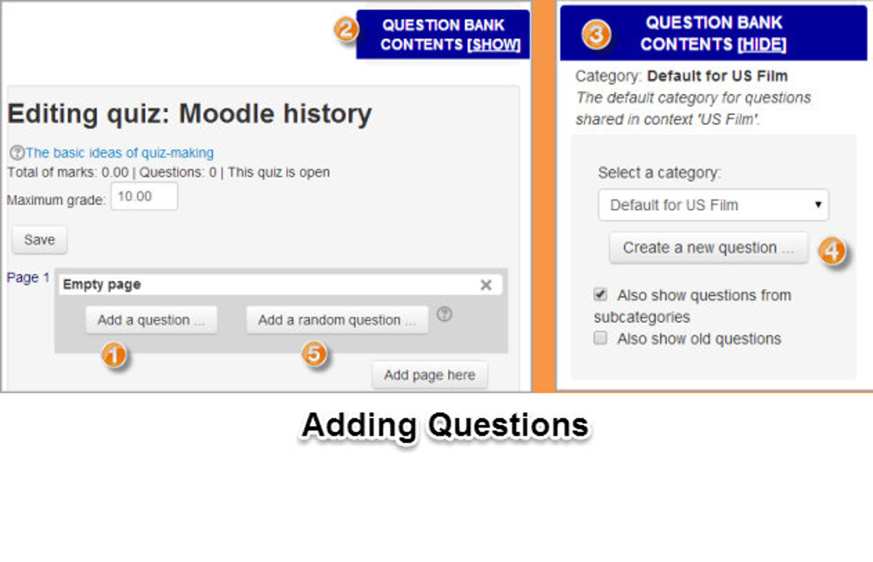 moodle quiz essay question Join mary cooch for an in-depth discussion in this video, student view of a quiz, part of moodle 24 essential training.