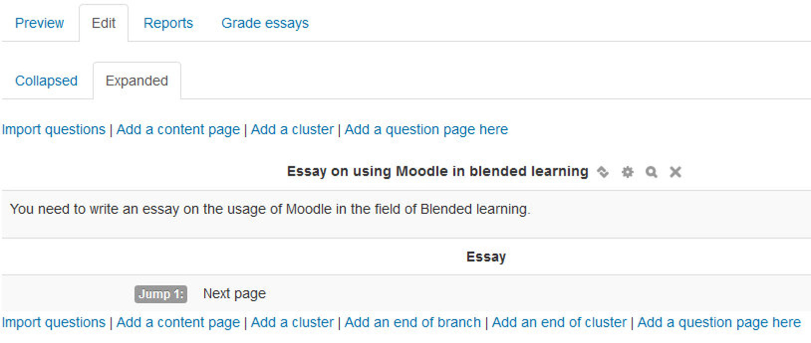 chapter lesson figure 12 11 expanded view of the edit lesson page